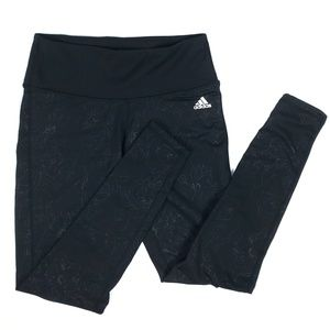 Adidas Embossed Cold Weather Leggings